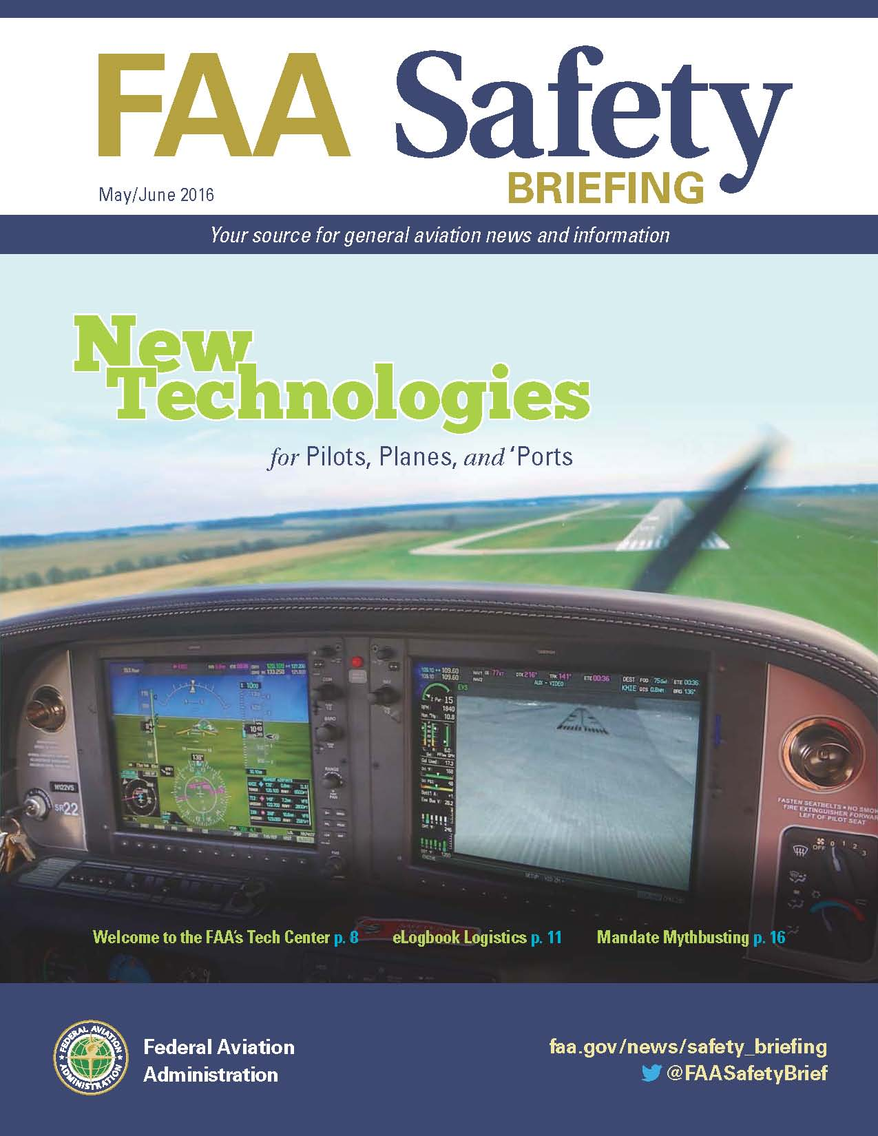 FAA Safety Briefing May June 2016
